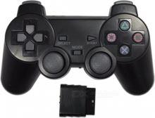 [PS2] Bezdrátový Ovladač - černý (nový)
