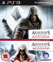 PS3 Assassins Creed Revelations + Brotherhood (nová)