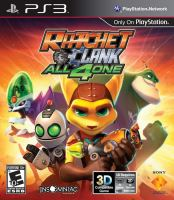 PS3 Ratchet And Clank All4One (bez obalu)