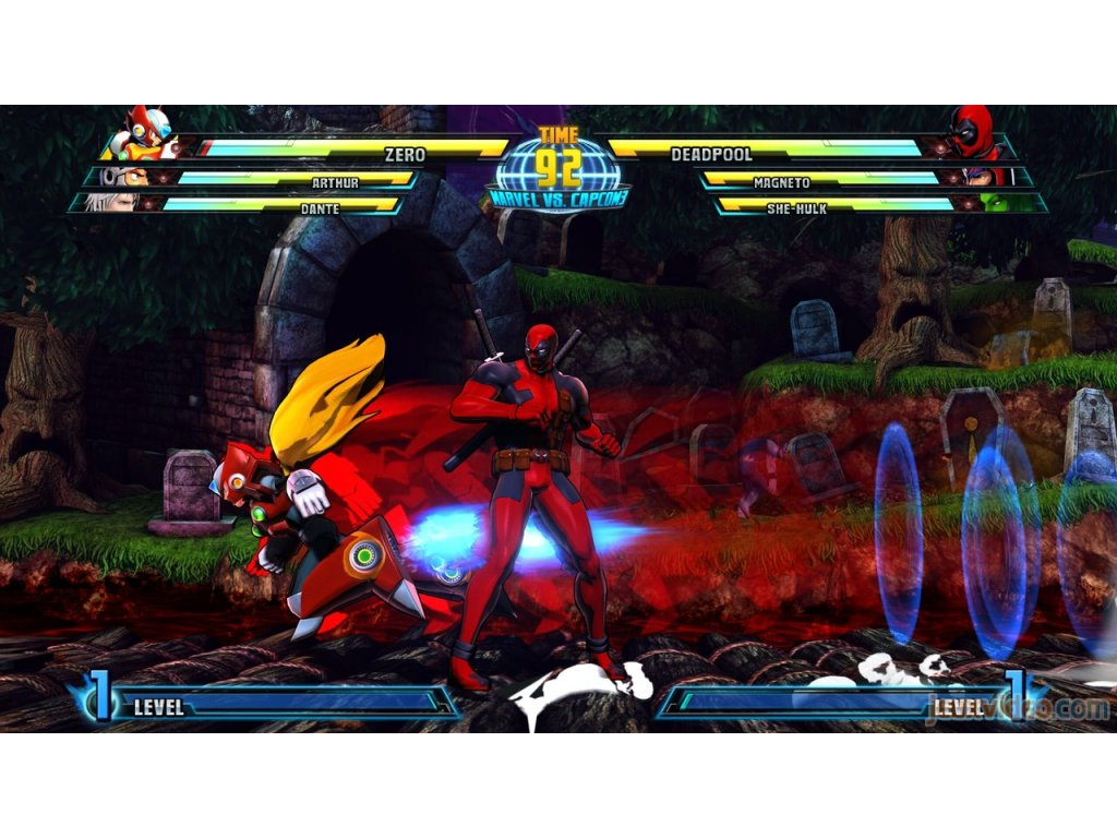 PS3 Marvel Vs Capcom 3 - Fate Of Two Worlds