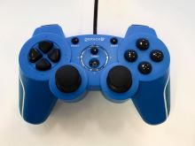 [PS3 | PC] Drôtový Ovládač Gioteck VX-2 - modrý (estetická vada)