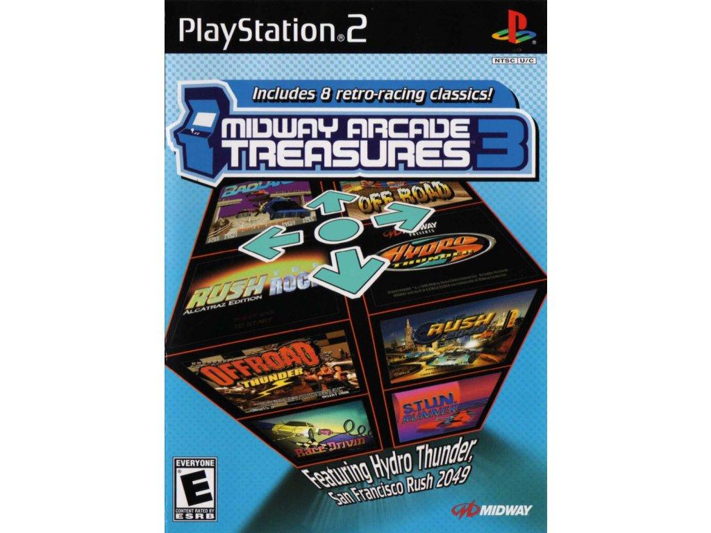 PS2 Midway Arcade Treasures 3