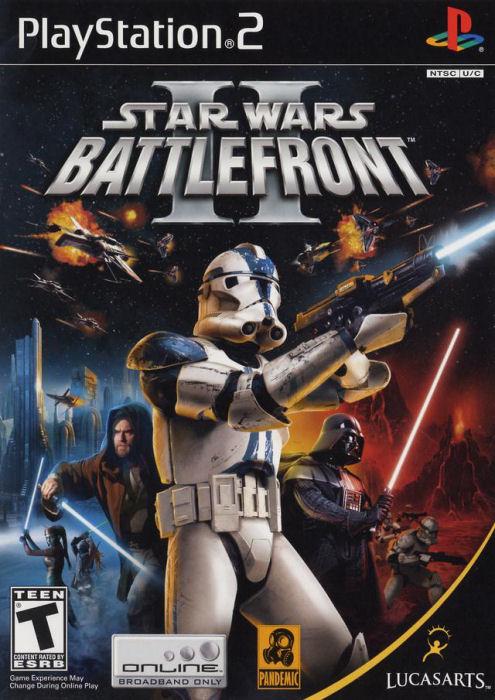 PS2 Star Wars Battlefront 2 (DE)