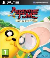 PS3 Adventure Time Finn and Jake Investigations (nová)