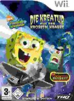 Nintendo Wii Spongebob Squarepants: Creature From The Krusty Krab