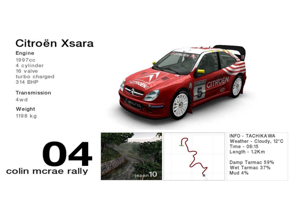 PS2 Colin Mcrae Rally 04