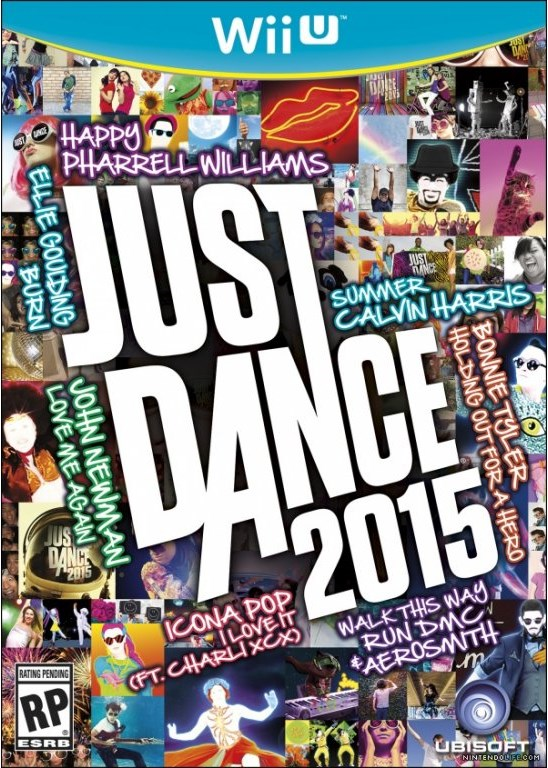 Nintendo Wii U Just Dance 2015