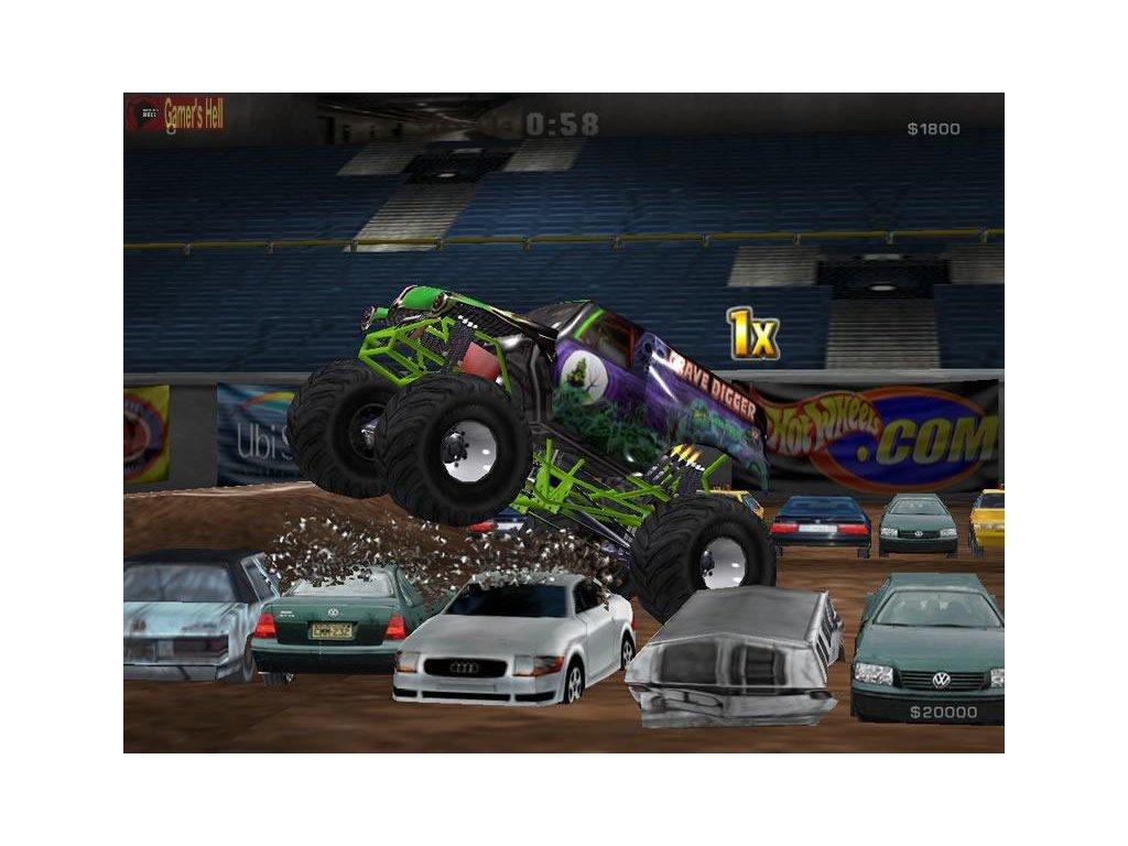 PS2 Monster Jam: Maximum Destruction
