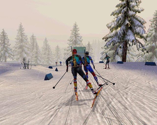 PS2 RTL Biathlon 2009
