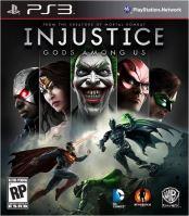 PS3 Injustice Gods Among Us (nová)