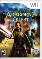 Nintendo Wii Pán Prsteňov The Lord Of The Rings Aragorns Quest
