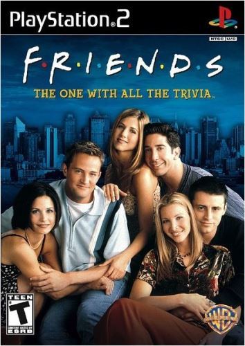 PS2 Priatelia - Friends: The One With All The Trivia