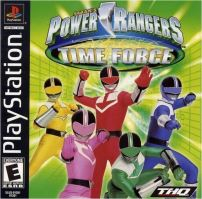 PSX PS1 Power Rangers Time Force