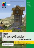 GameBook - Let'play Minecraft - Dein Praxis-Guide (DE)