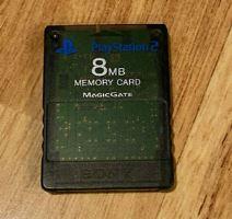 [PS2] Originálne pamäťová karta Sony 8MB (priehľadná čierná)