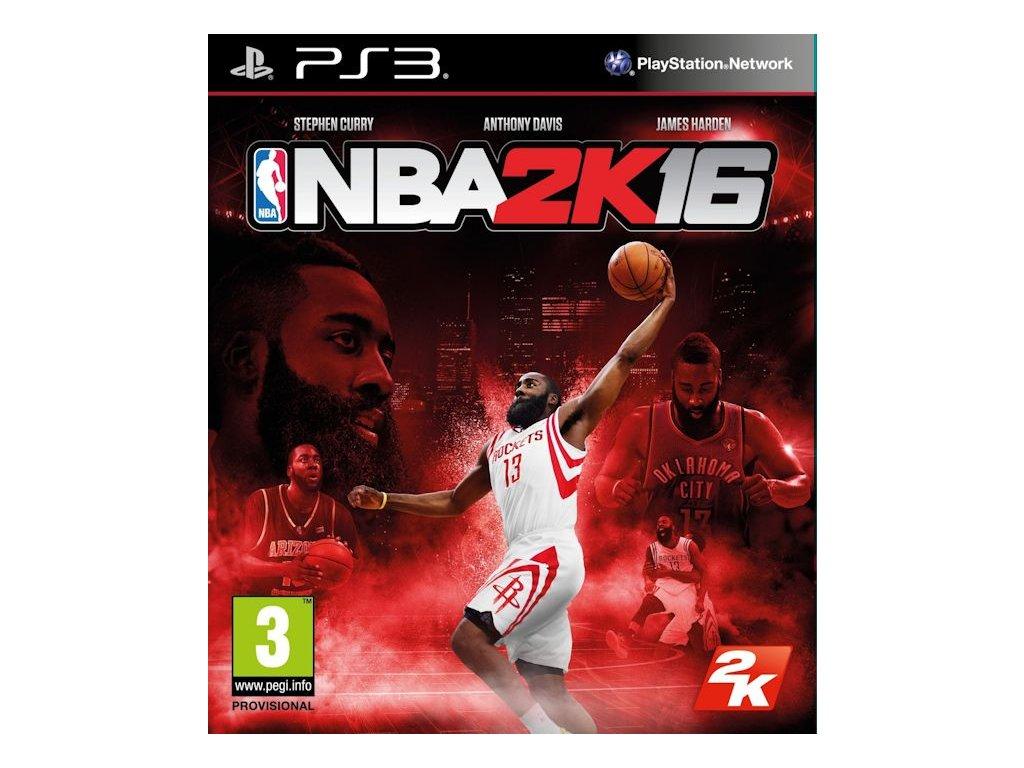 PS3 NBA 2K16 2016