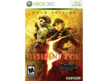 Xbox 360 Resident Evil 5 (GOLD edícia)