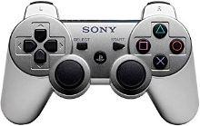 [PS3] Bezdrôtový Ovládač Sony Dualshock - strieborný