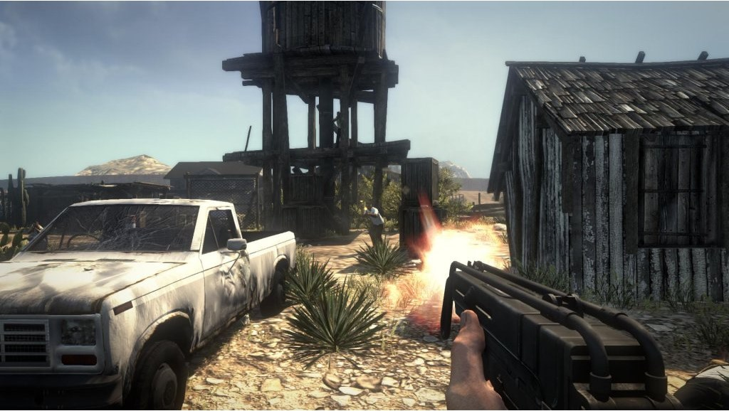 Xbox 360 Call Of Juarez The Cartel