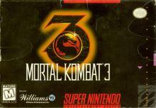 Nintendo SNES Mortal Kombat 3