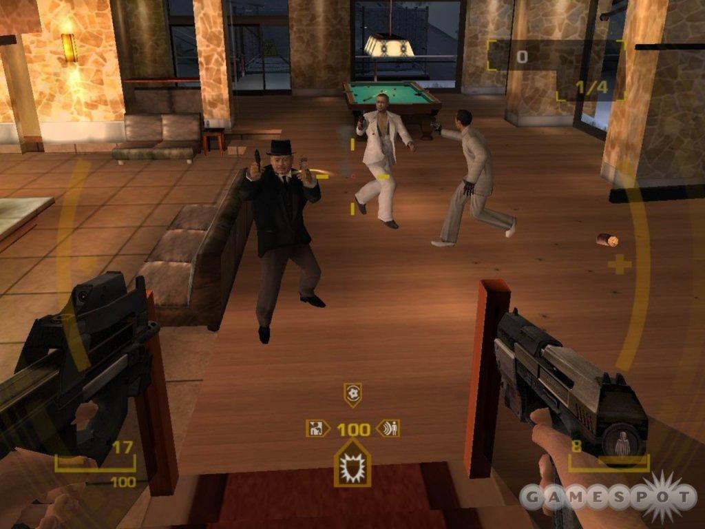 PS2 Golden Eye Rogue Agent