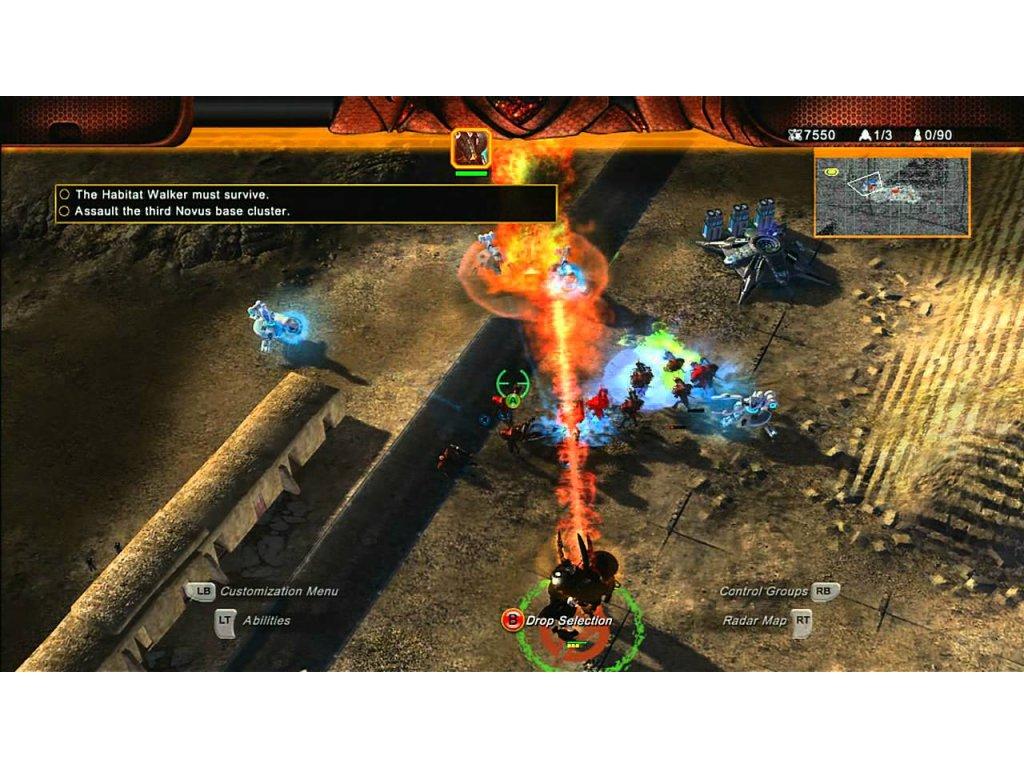 Xbox 360 Universe At War Earth Assault