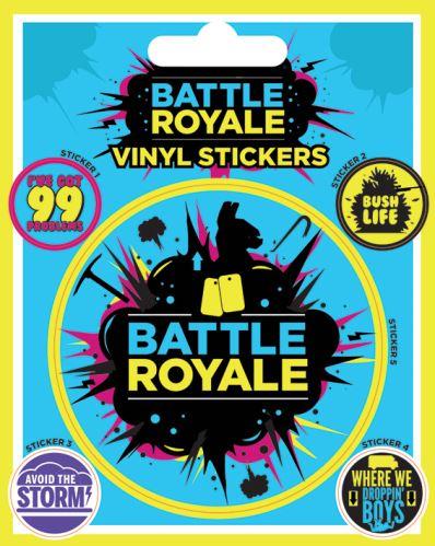 Fortným Battle Royale Sticker - Samolepka (nová)