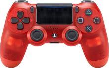 [PS4] Dualshock Sony Ovládač V2 - priehľadný červený