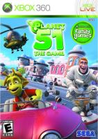 Xbox 360 Planet 51 The Game