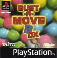 PSX PS1 Bust A Move 3 DX