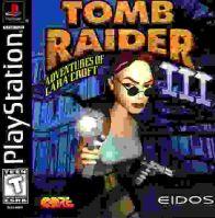 PSX PS1 Tomb Raider 3