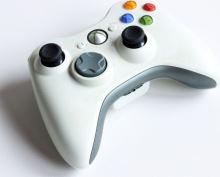 [Xbox 360] Bezdrôtový Ovládač Microsoft - bielošedý