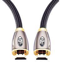 HDMI kábel Ibra 2m pozlátený, odolný + ethernet