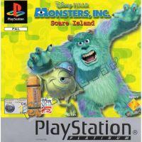 PSX PS1 Disney-Pixar's Monsters, Inc. - Scare Island (2445)