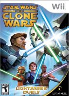 Nintendo Wii Star Wars The Clone Wars: Lightsaber Duels