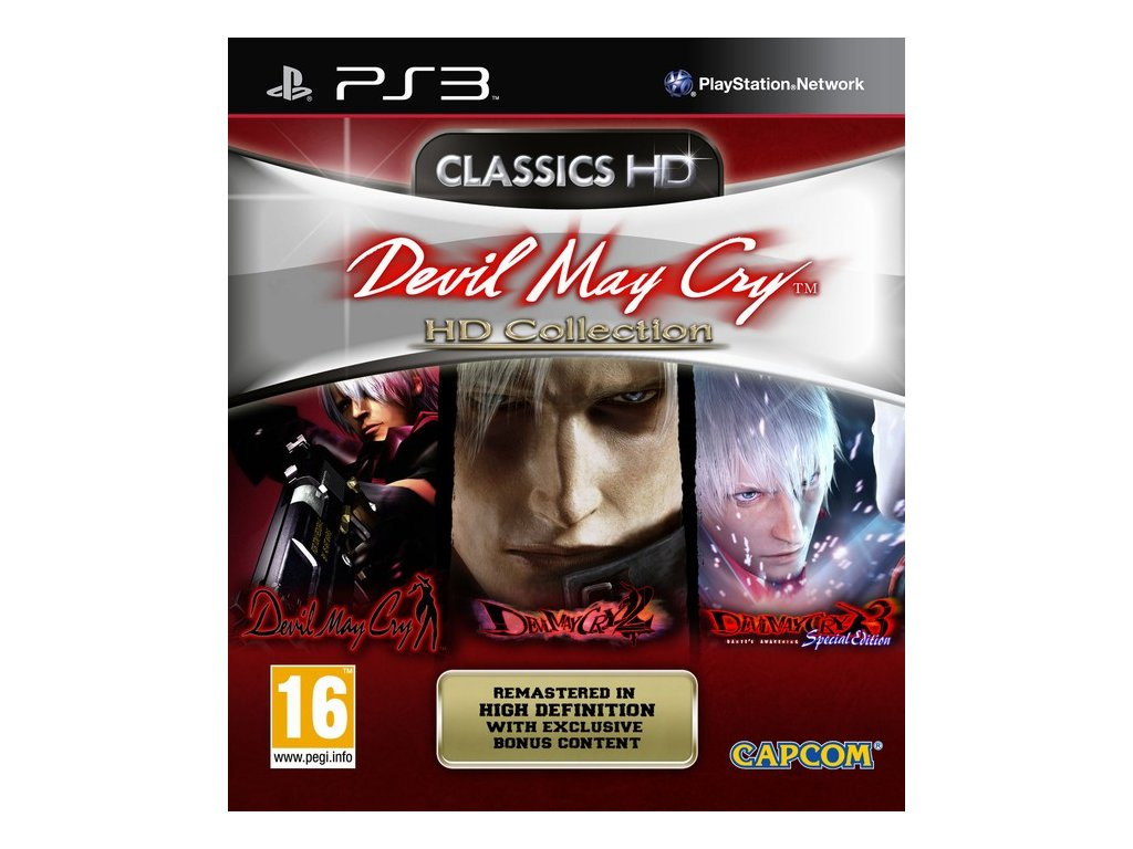PS3 Devil May Cry HD Collection