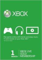 Xbox Live Gold Na 1 mesiac - Hmotný poukaz