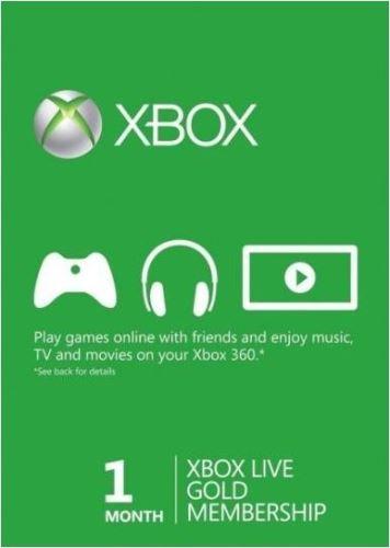 Xbox Live Gold Trial Na 1 mesiac - Hmotný poukaz