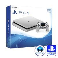 PlayStation 4 Slim 500 GB - Strieborná Edícia
