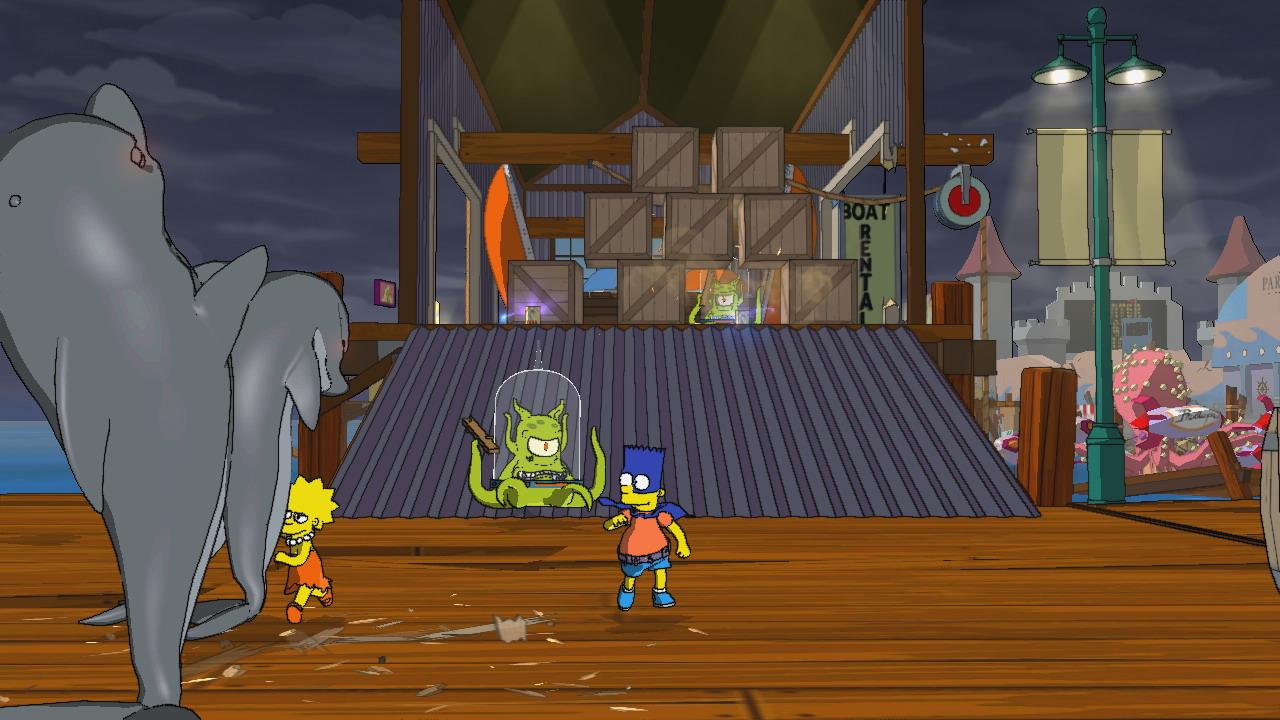 PS3 Simpsonovi, The Simpsons (DE)