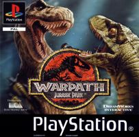 PSX PS1 Warpath: Jurassic Park