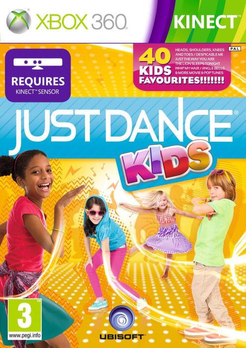 Xbox 360 Kinect Just Dance Kids