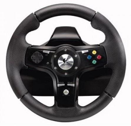[Xbox 360] Logitech DriveFX Wheel (estetická vada)