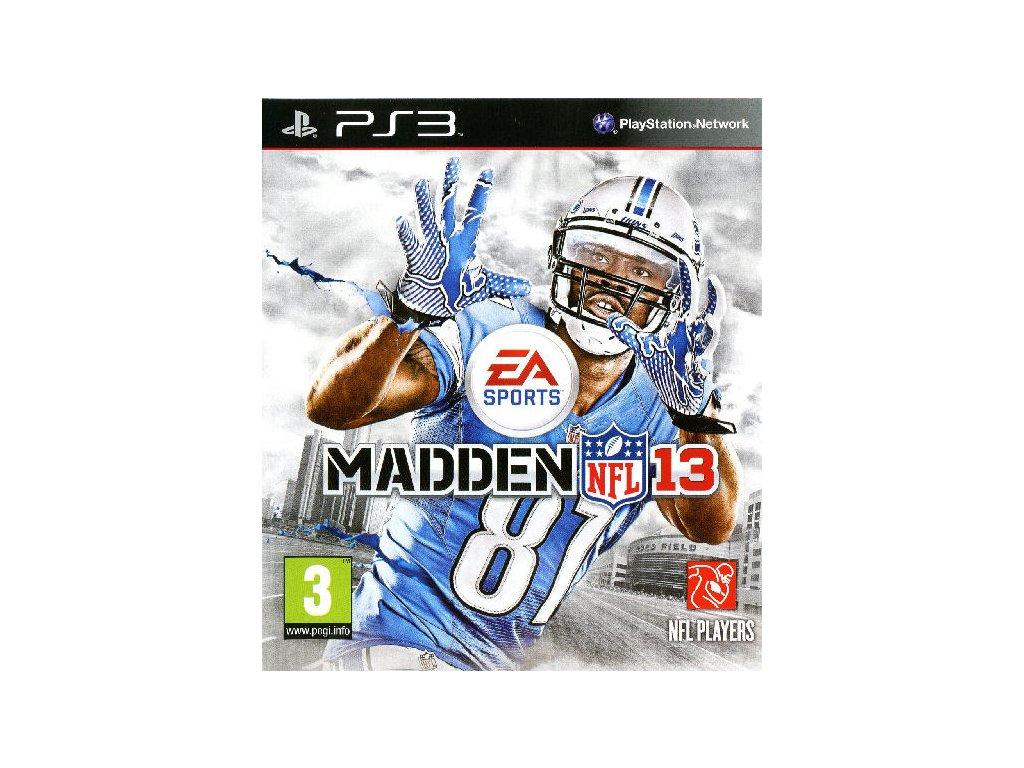 PS3 Madden NFL 13 2013