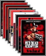 Plagát Red Dead Redemption 2 - rôzne motívy (nový)