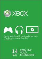 Xbox Live Gold Na 14 dní - Hmotný poukaz