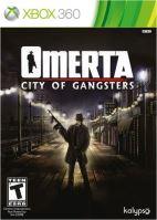 Xbox 360 Omerta City Of Gangsters (nová)
