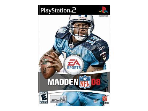 PS2 Madden NFL 08 2008