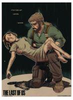 Plakát The Last of Us (m) (nový)
