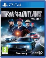 PS4 Street Outlaws: The List (nová)